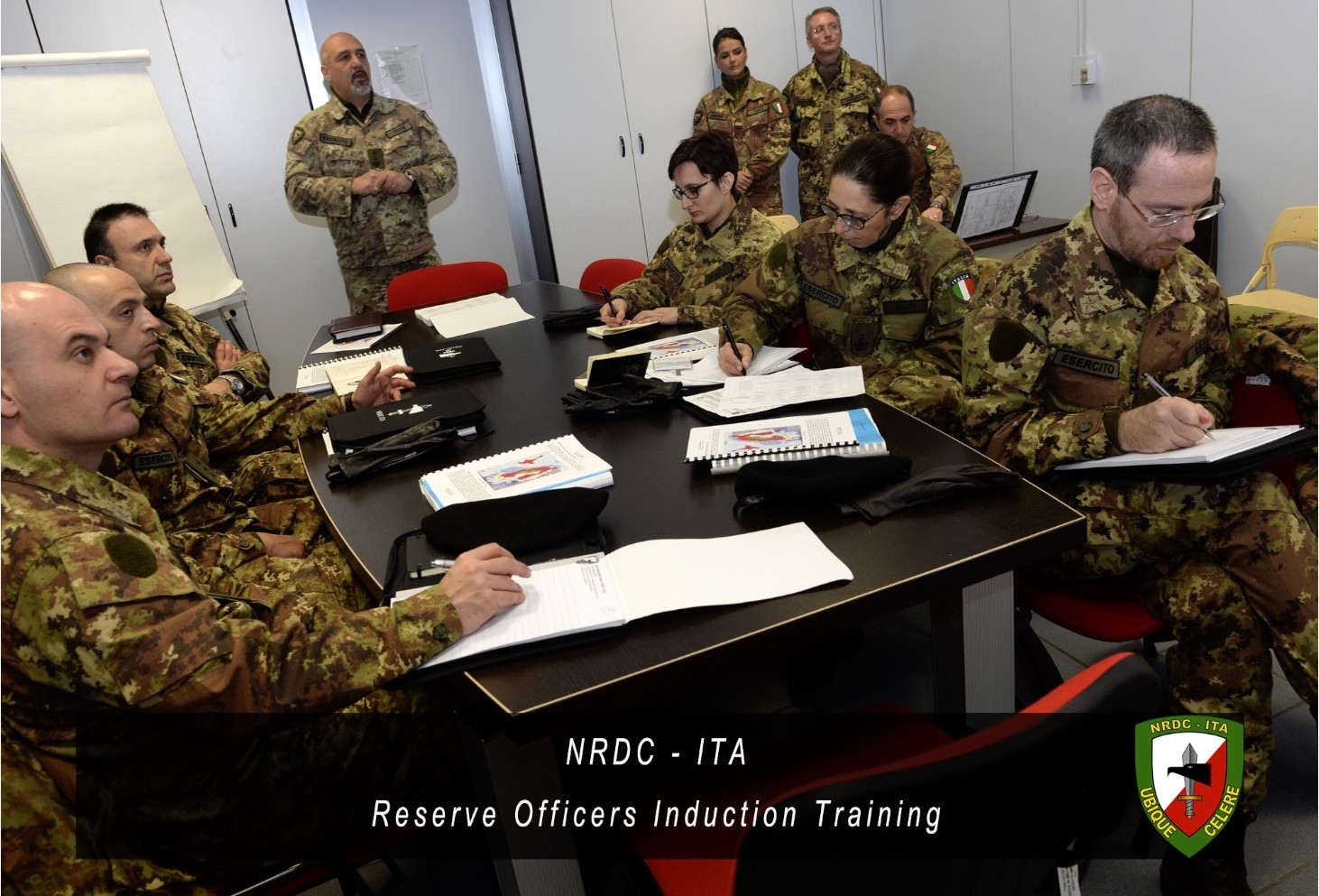 NRDC-ITA Reserve Officers Induction Training