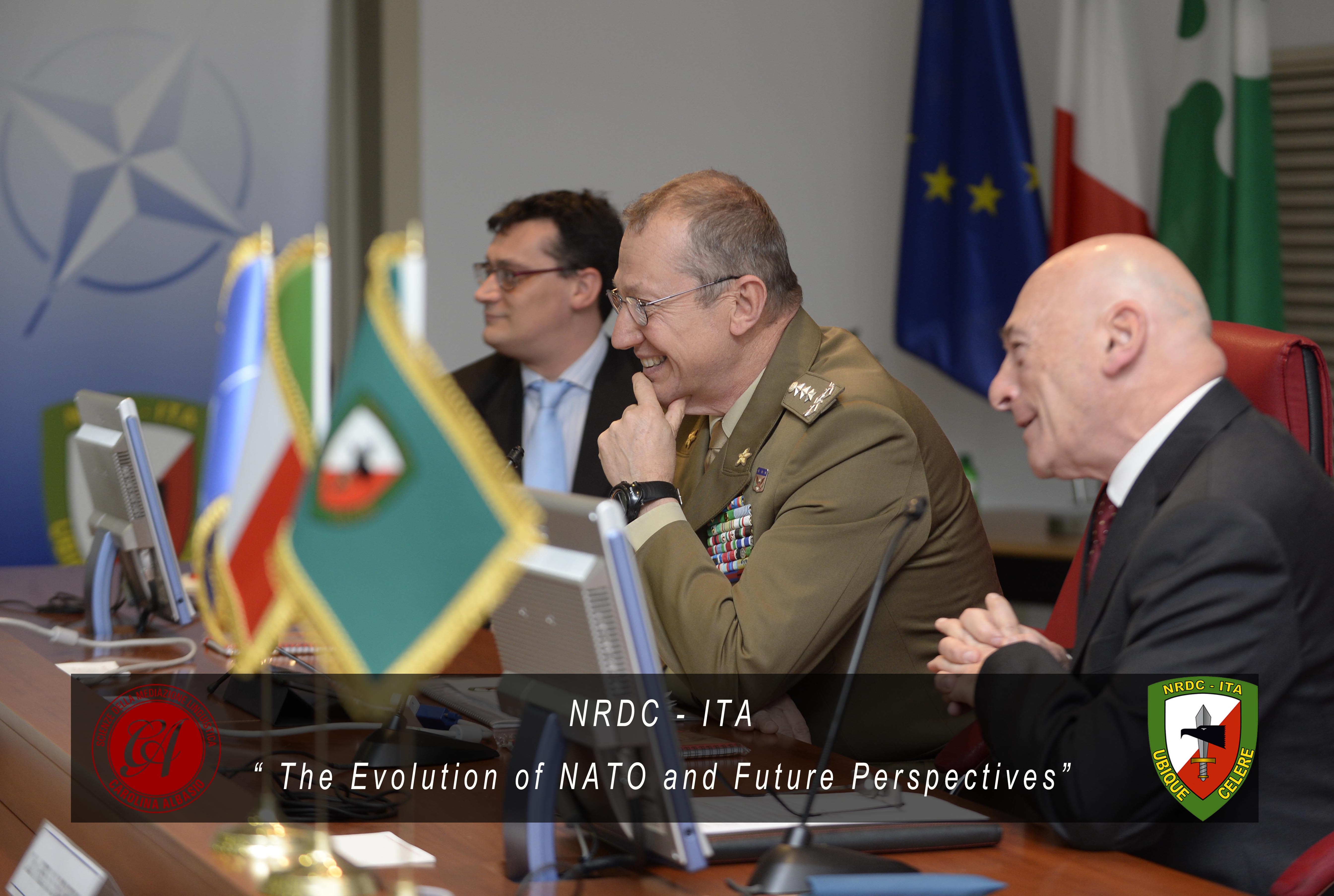 8th February - The evolution of NATO and future perspectives