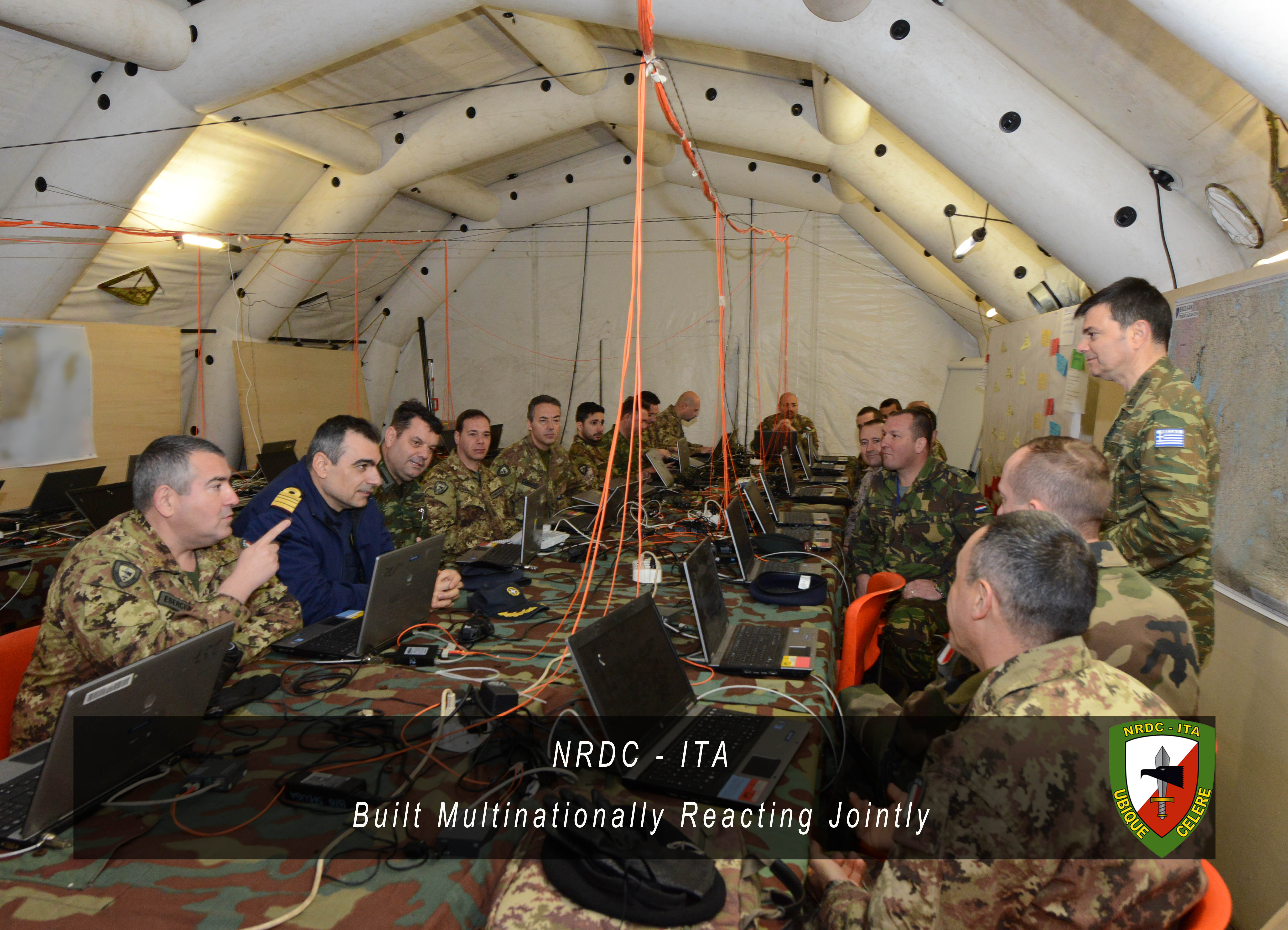 26th February - NRDC-ITA Exercise and Training