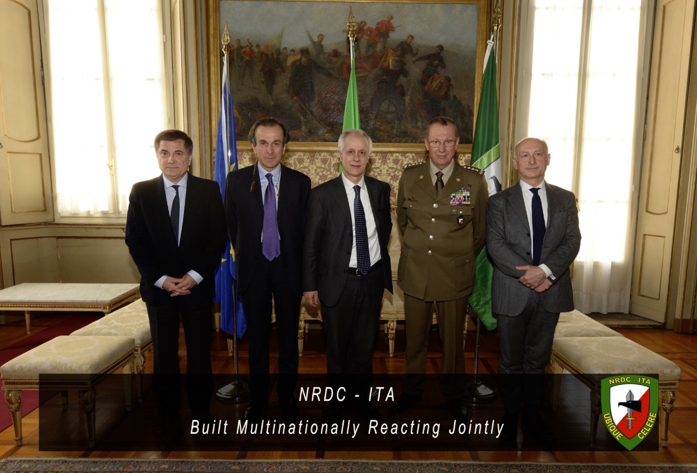 1st March - Lt. Gen. MARCHIO' met