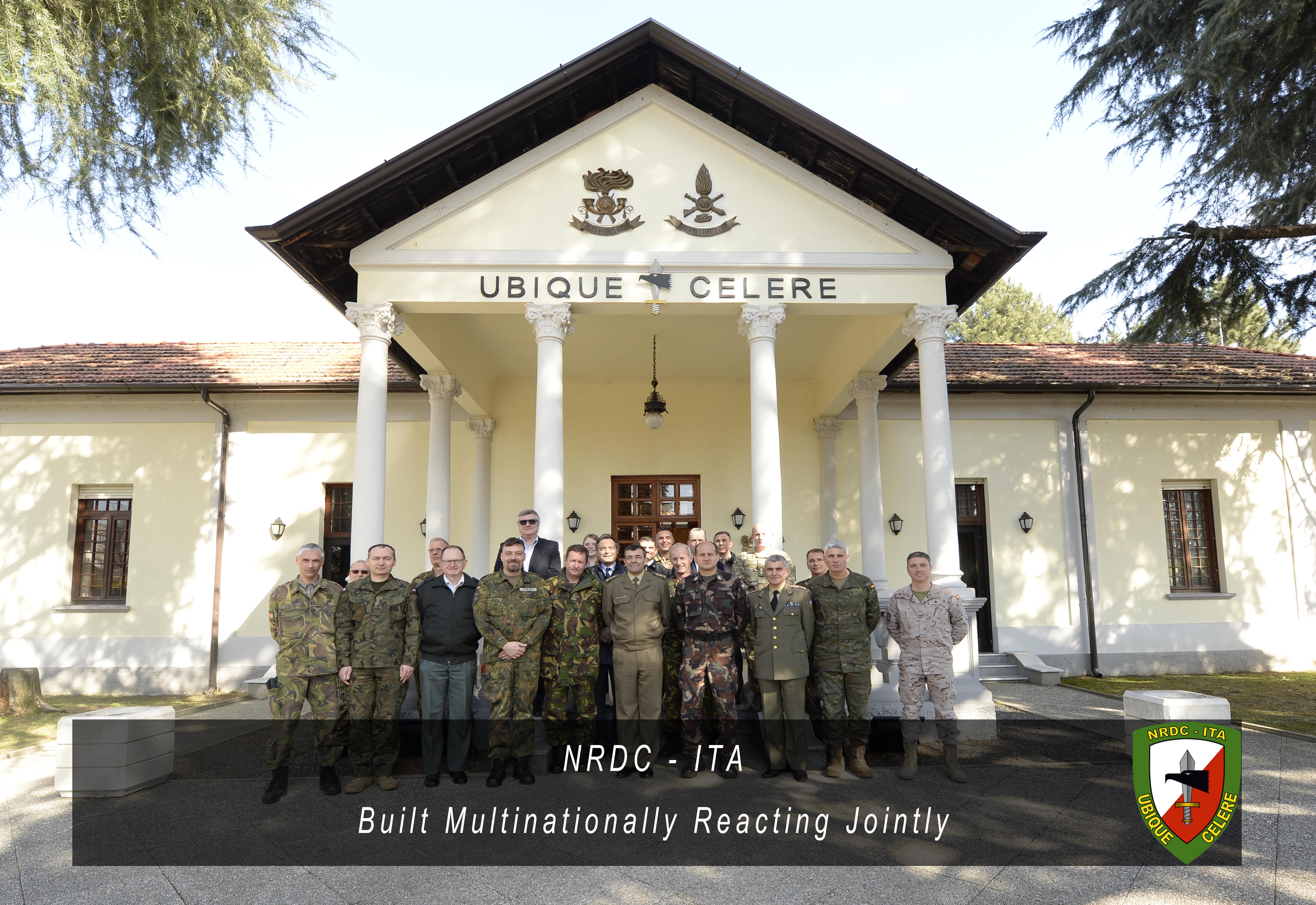 10th March -  NRDC-ITA hosted the first Allied Command Operations Civil Military Cooperation Working Group and Civil Military Interaction (ACO CIMIC and CMI WG) of 2016.