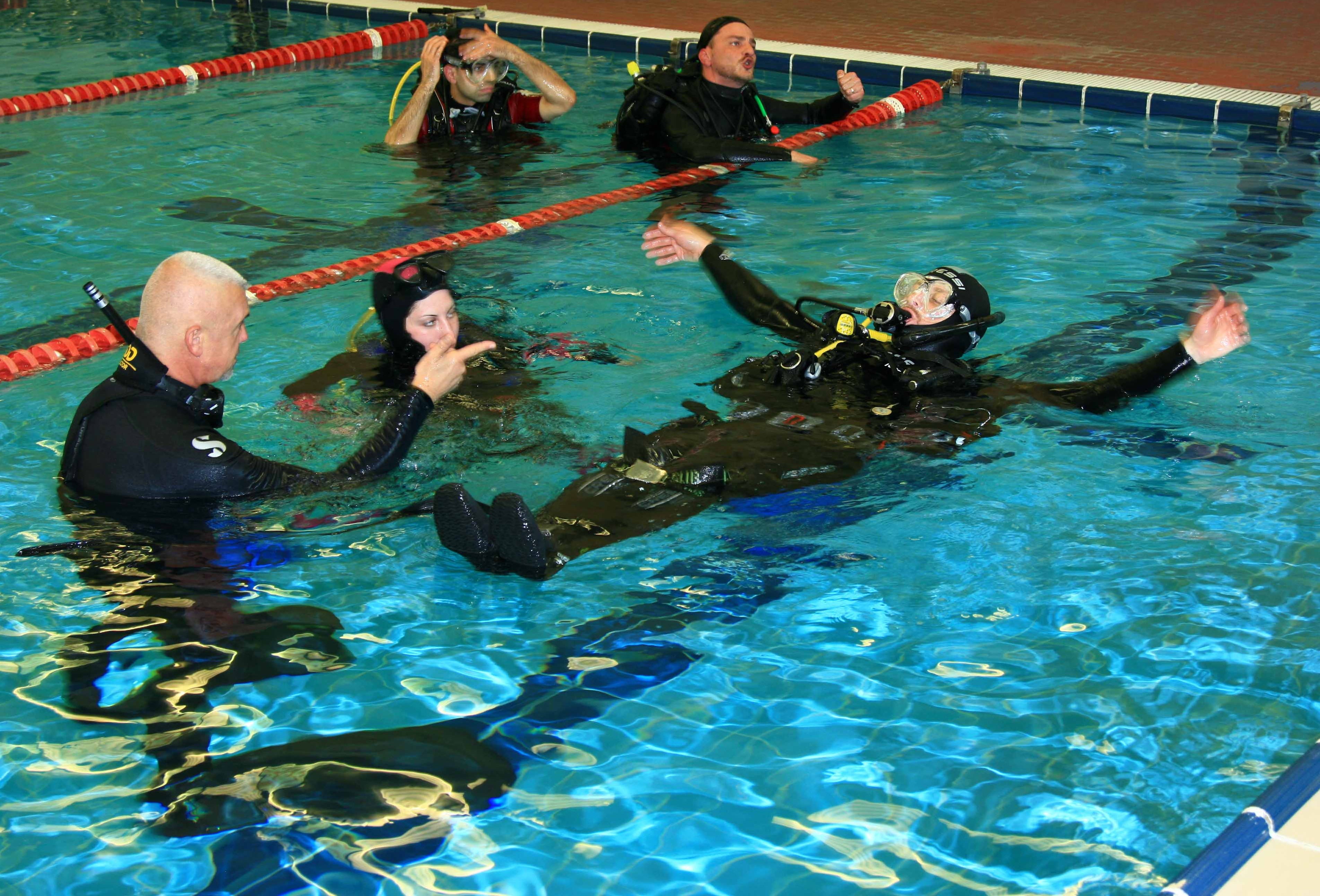 29th May - 2nd Handicapped Scuba Association (HSA)