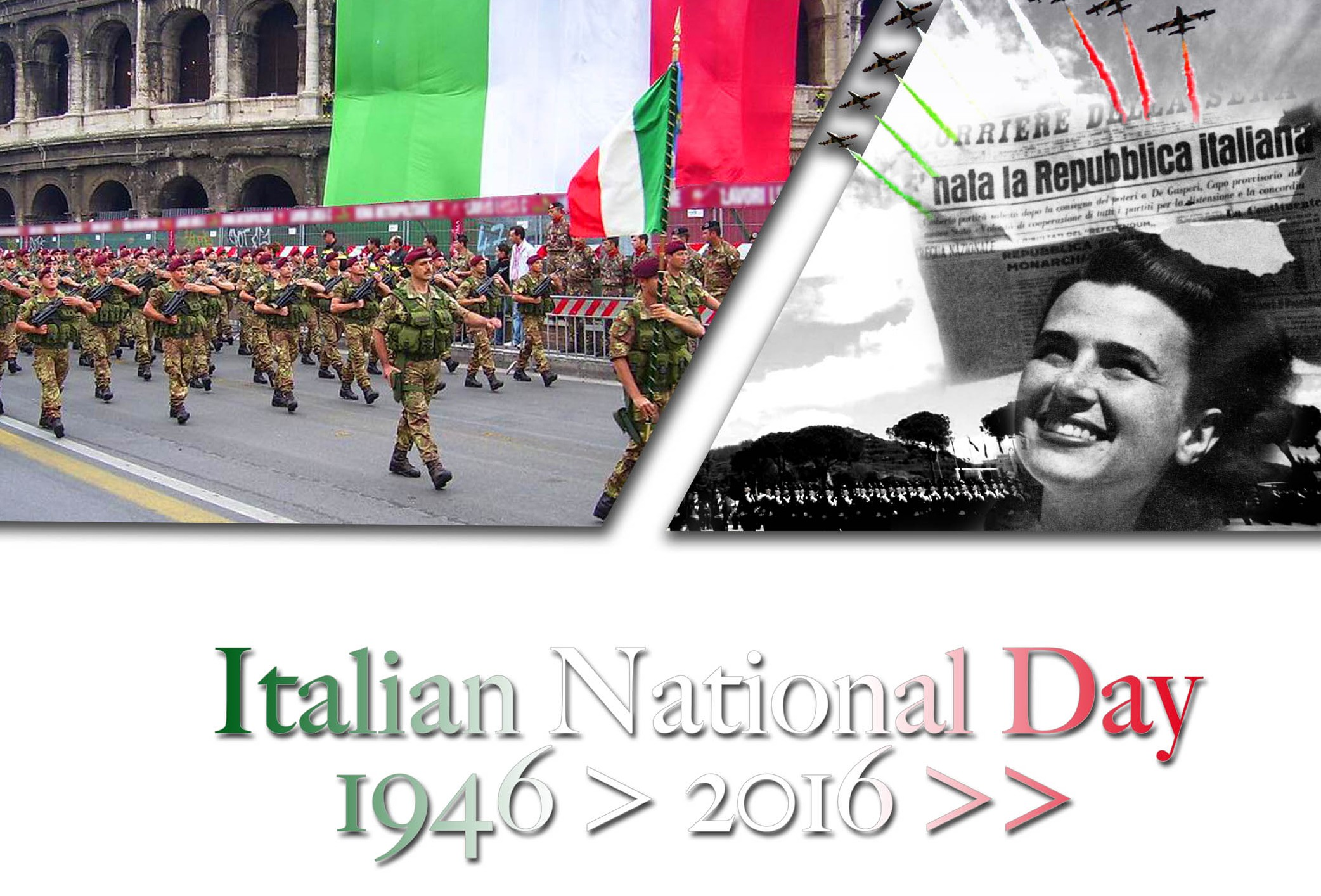 2nd June - Italian national day