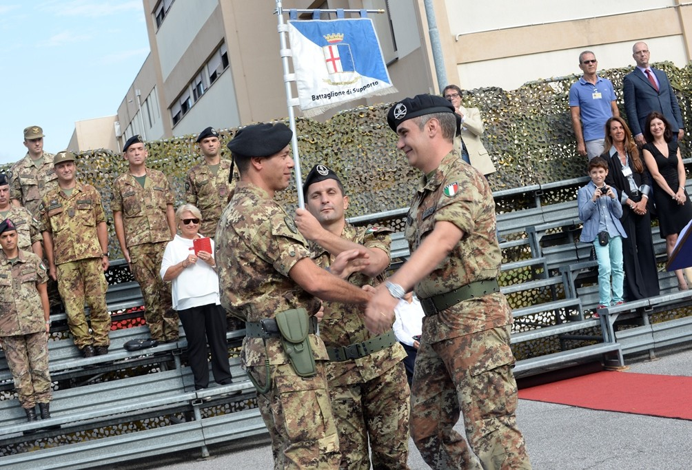 Support Battalion change of command