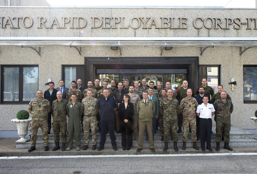 18th October - Exercise Specification Conference at NRDC-ITA