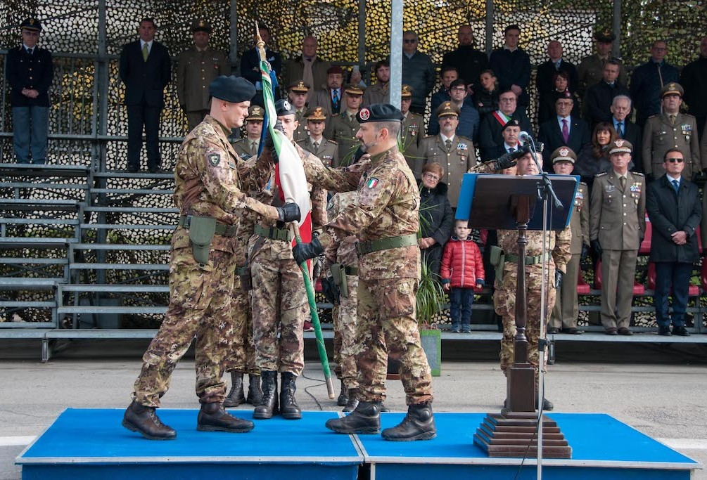 3rd November - Signal Regiment Change of Command