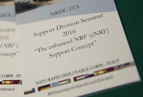 4th November - eNRF Support Concept Seminar at NRDC-ITA