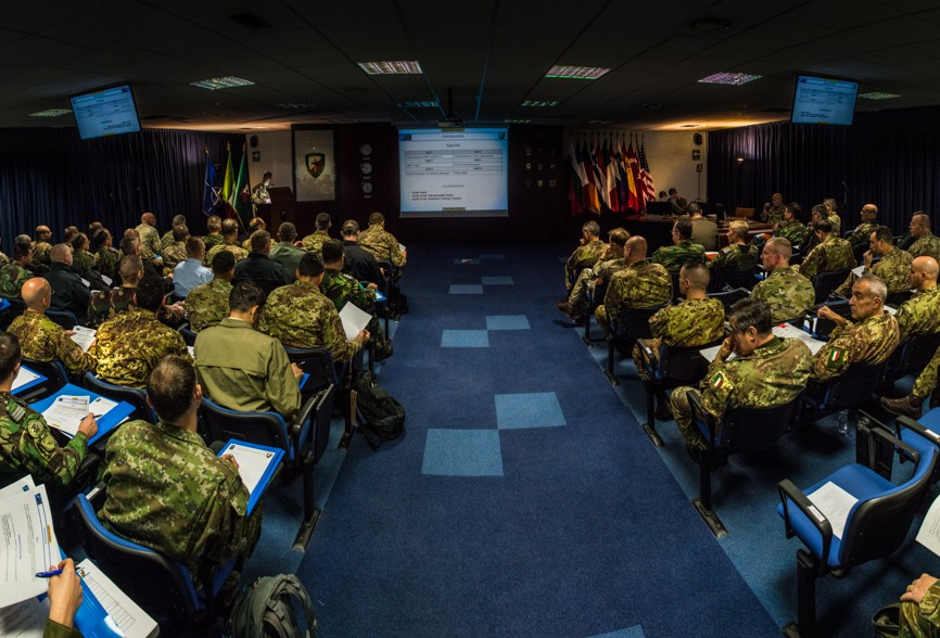 LCC Commanders' Conference at NRDC-ITA
