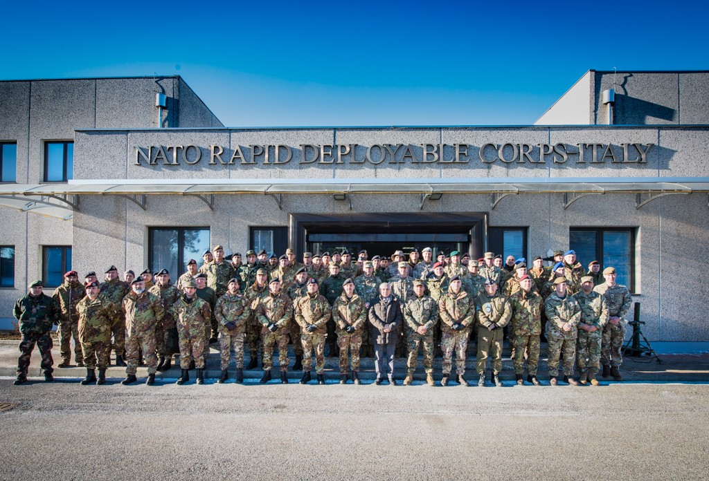 A NATO Planning Course session held at NRDC-ITA