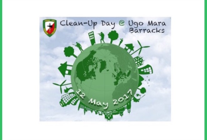 12th May - Clean Up Day @ Ugo Mara barracks