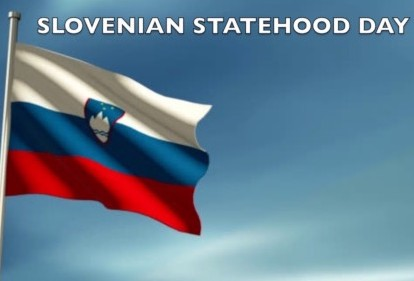 NRDC-ITA Staff celebrates the 26th Slovenian Statehood Day