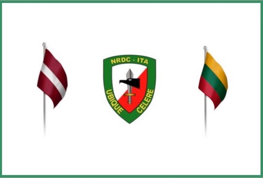NRDC-ITA welcomes Officers from Latvia and Lithuania