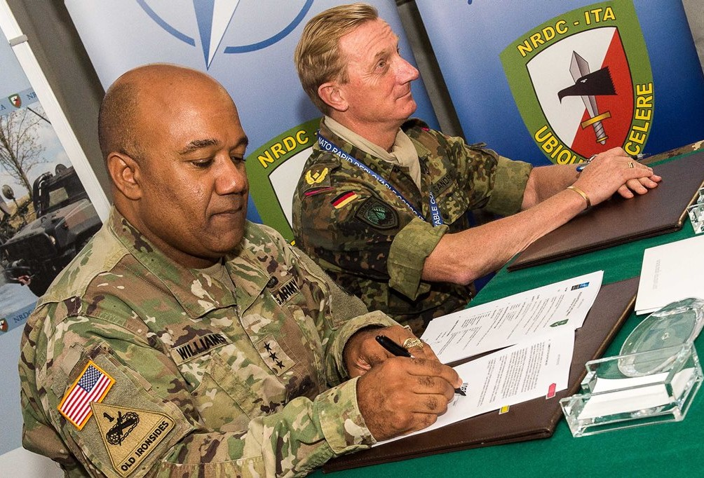NRDC-ITA ready for the role of eNRF Land Component Command