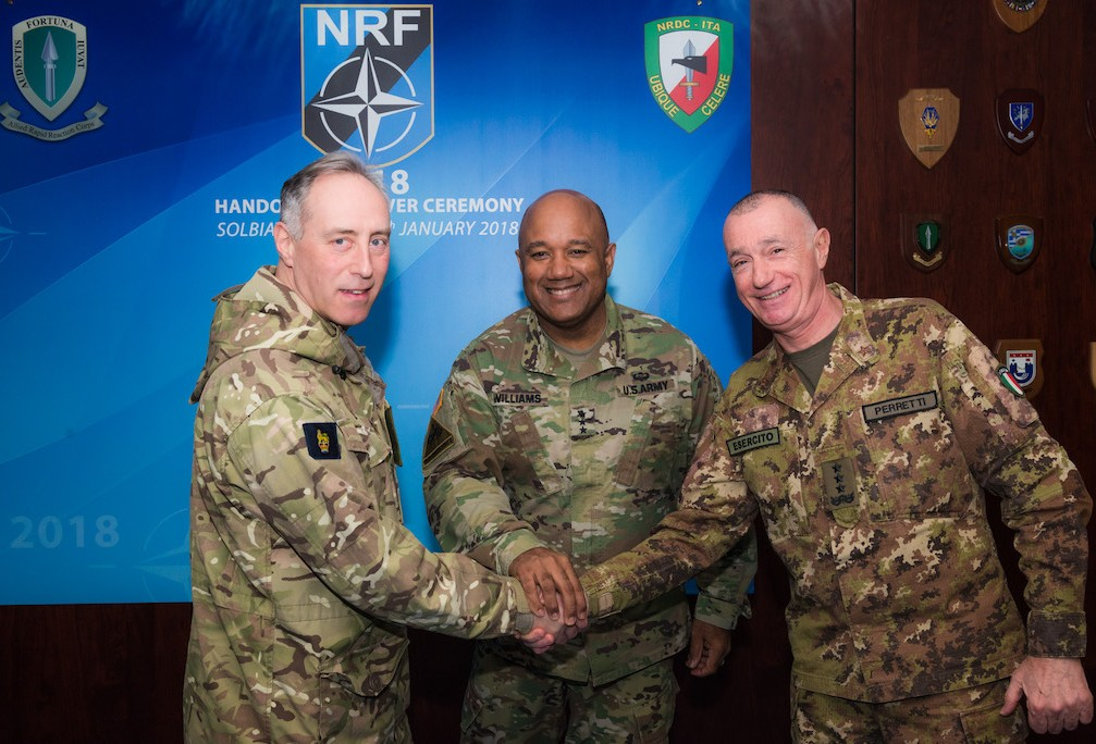 NRDC-ITA takes over role as LCC for NRF 2018