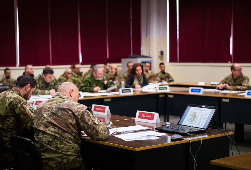 NRDC-ITA hosts NATO Operational Planning Course