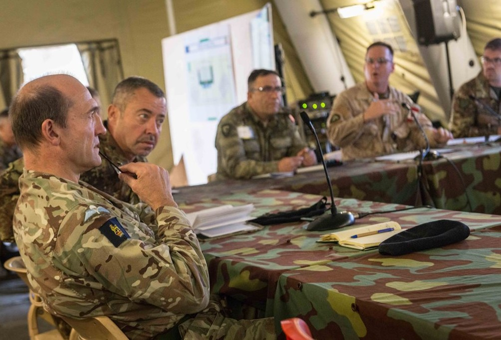 NRDC-ITA concluded the Battle Staff Training for upcoming Exercise Eagle Meteor