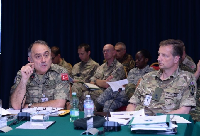 NRDC-ITA hosts the 4th Chiefs of Staff Conference, chaired by Chief of Staff Land Command
