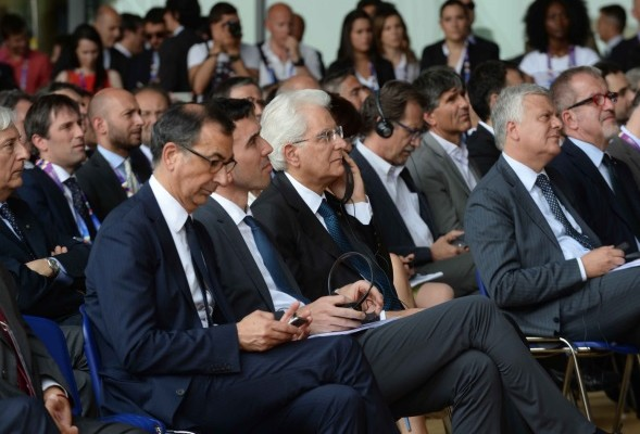 The President of the Italian Republic, Sergio Mattarella, attended the EXPO 2015 in the occasion of the World Environment Day