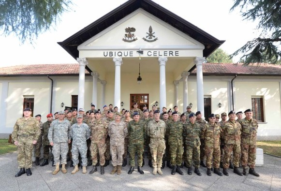 "Since today NRDC-ITA is hosting the first ""Support Division Seminar"" in the ""UGO MARA"" Barracks."