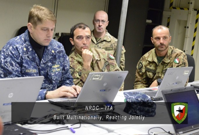 Eagle Vision 2015 - Exercise at NRDC-ITA