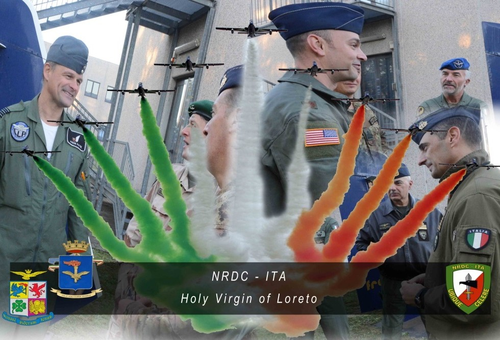 Holy Virgin of Loreto day celebrated at NRDC-ITA