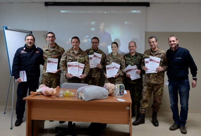 Medical training course at NRDC- ITA