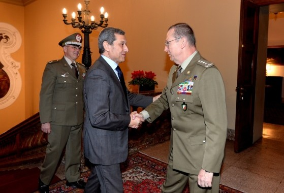 LT. GEN. Marchio' meets the new Prefect of Milan