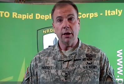 ALLIED LAND COMMANDER VISITS NRDC - ITA