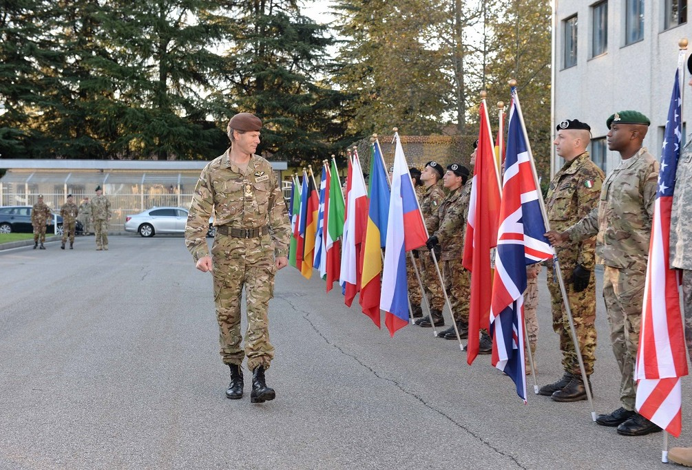 DEPUTY SUPREME ALLIED COMMANDER EUROPE VISITS NRDC - ITA