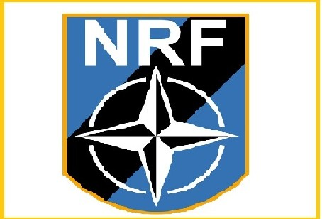 NATO RESPONSE FORCE HANDOVER CEREMONY