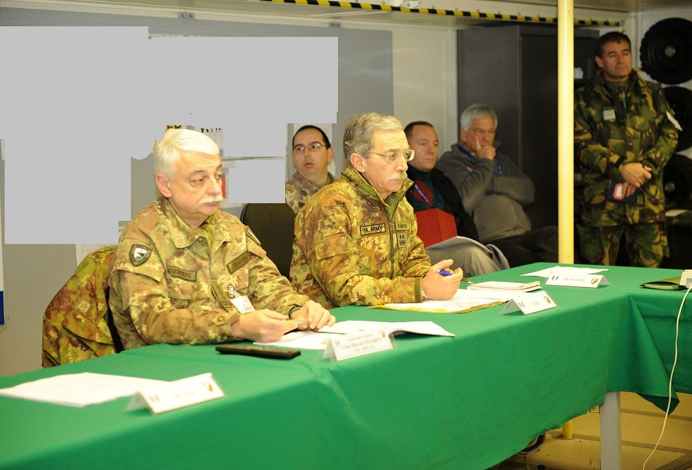 NRDC-ITA PERSONNEL AT THE EXERCISE STEADFAST COBALT 2011
