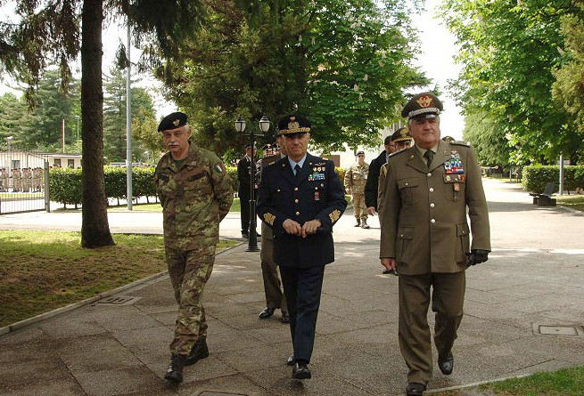 ITA CHoD, GEN VINCENZO CAMPORINI, AND THE CHIEF OF THE IAGS, GEN VALOTTO, VISIT NRDC-ITA