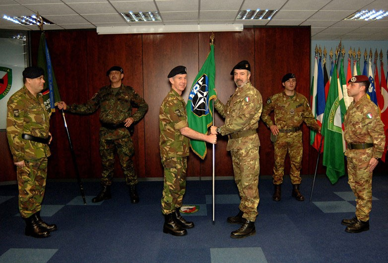 NRDC-ITA HANDS OVER LCC OF THE NATO RESPONSE FORCE