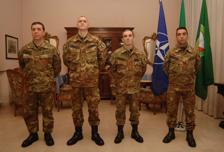 HQ NRDC-ITA WARRANT OFFICERS REACH FOR THE STARS
