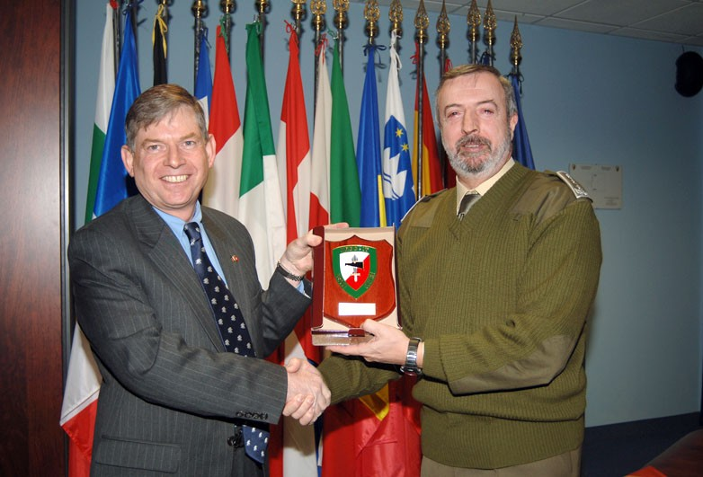 THE CONSUL GENERAL OF SWITZERLAND VISITS NRDC-ITA