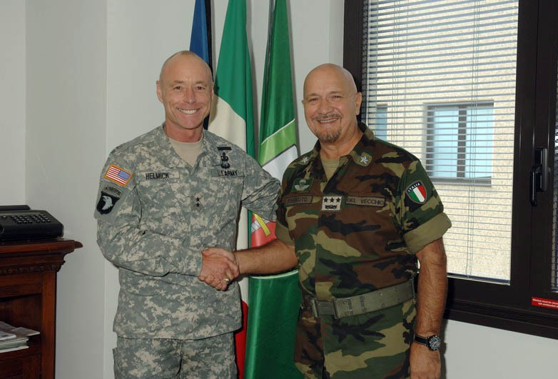 NEW COMMANDER  USASETAF VISITS NRDC-IT