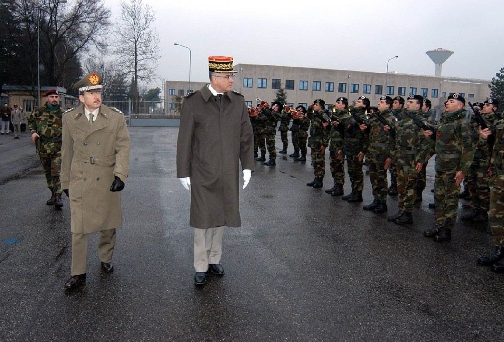 VISIT OF THE FRENCH CHIEF OF ARMY GENERAL STAFF