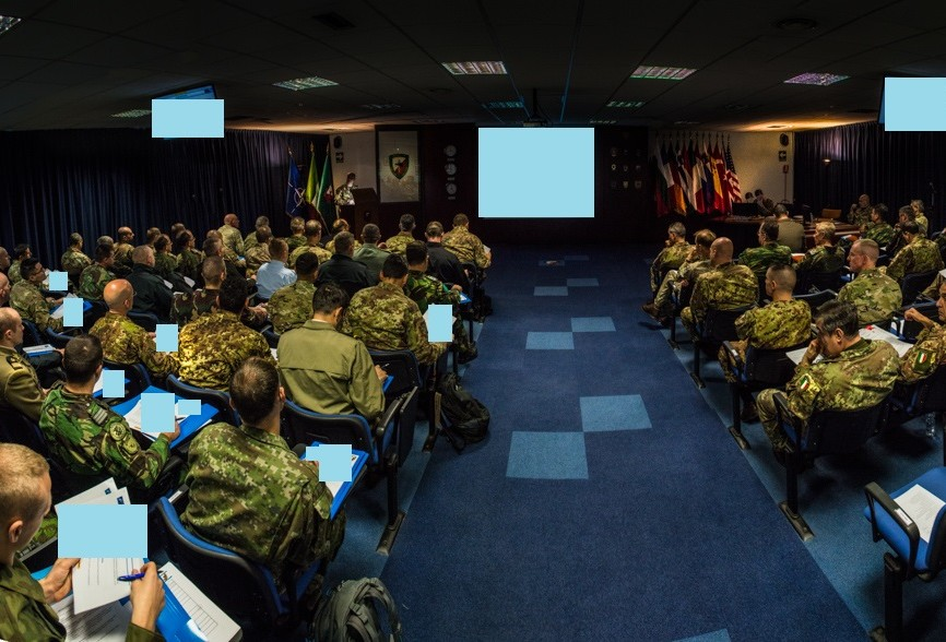 HQ NRDC-IT HOSTS 4th ANNUAL CIMIC LEADERS CONFERENCE