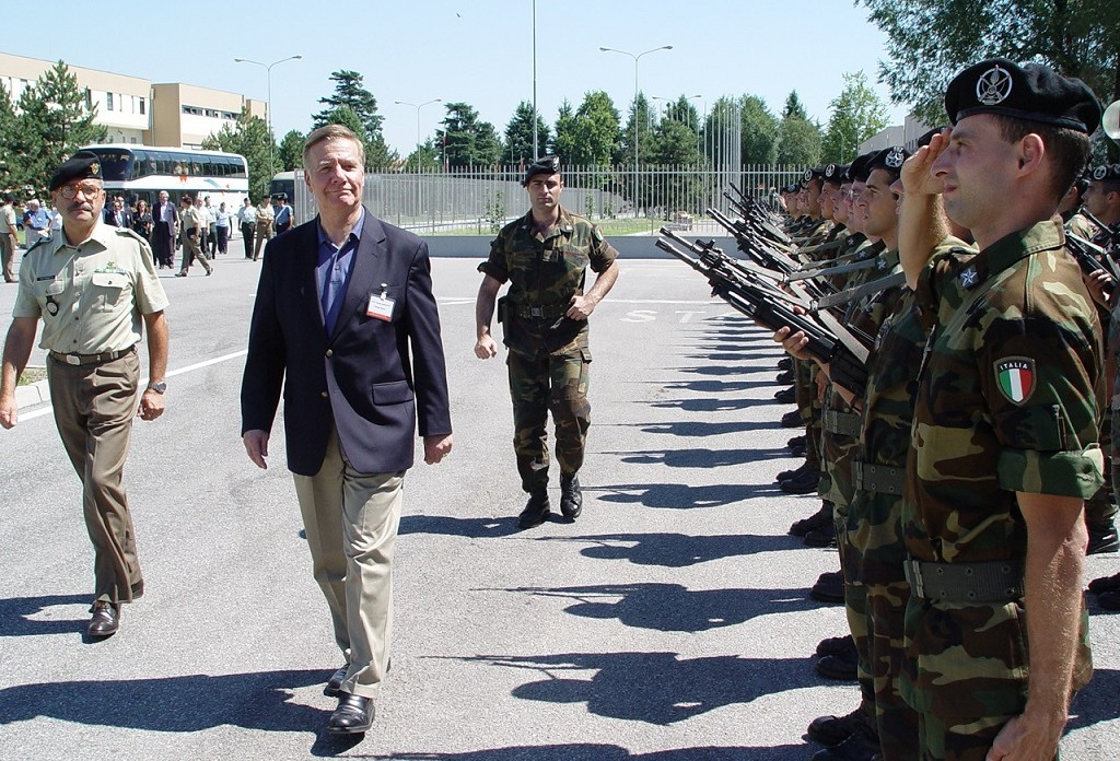 THE NATO PARLIAMENTARY ASSEMBLY VISITS THE NATO RAPID DEPLOYABLE CORPS