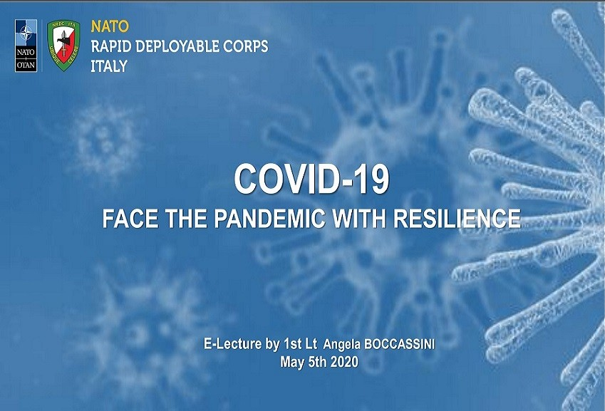 NRDC-ITA addresses the issue of stress analysis and management in the COVID-19 era.