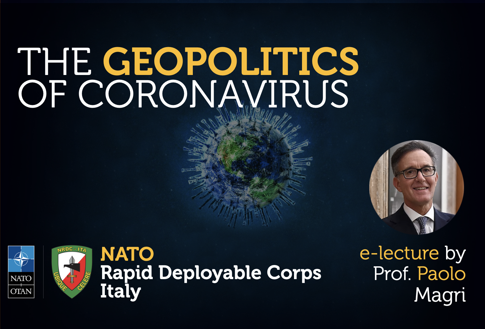 Conference - NRDC-ITA interview on Coronavirus Geopolitics.
