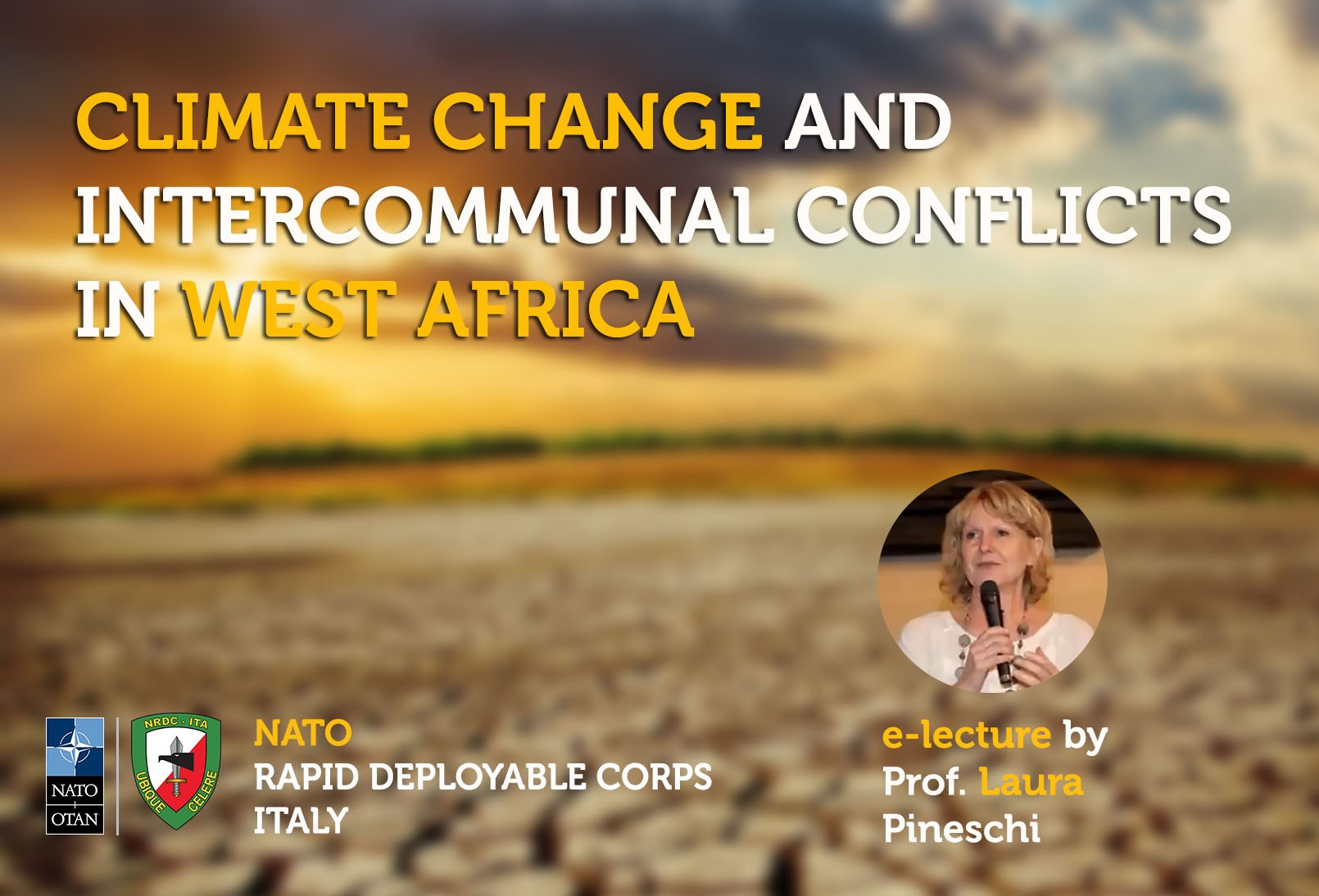 At NRDC-ITA, climate change is discussed as a